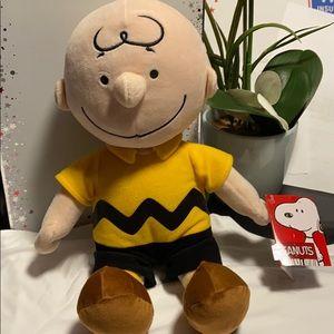 NWT Charlie Brown plush doll